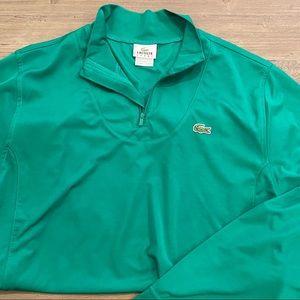 Men's Lacoste long sleeve sports shirt